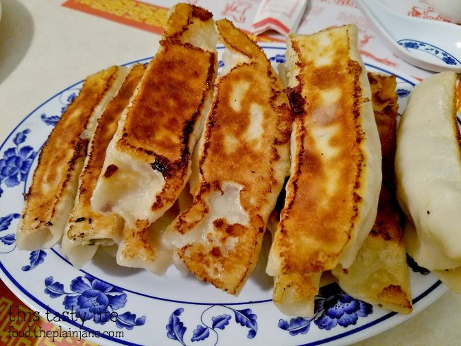 Pan Fried Dumplings at Peking Restaurant   Westminster, CA