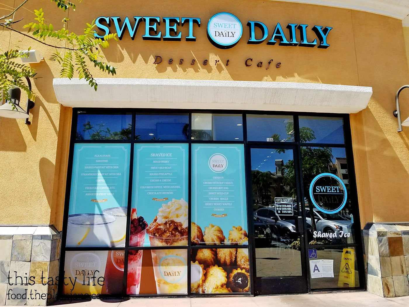 Sweet Daily Cafe / Riverside, CA - This Tasty Life