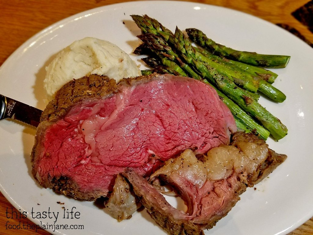 Slow-Roasted Prime Rib at BJ's Restaurant and Brewhouse