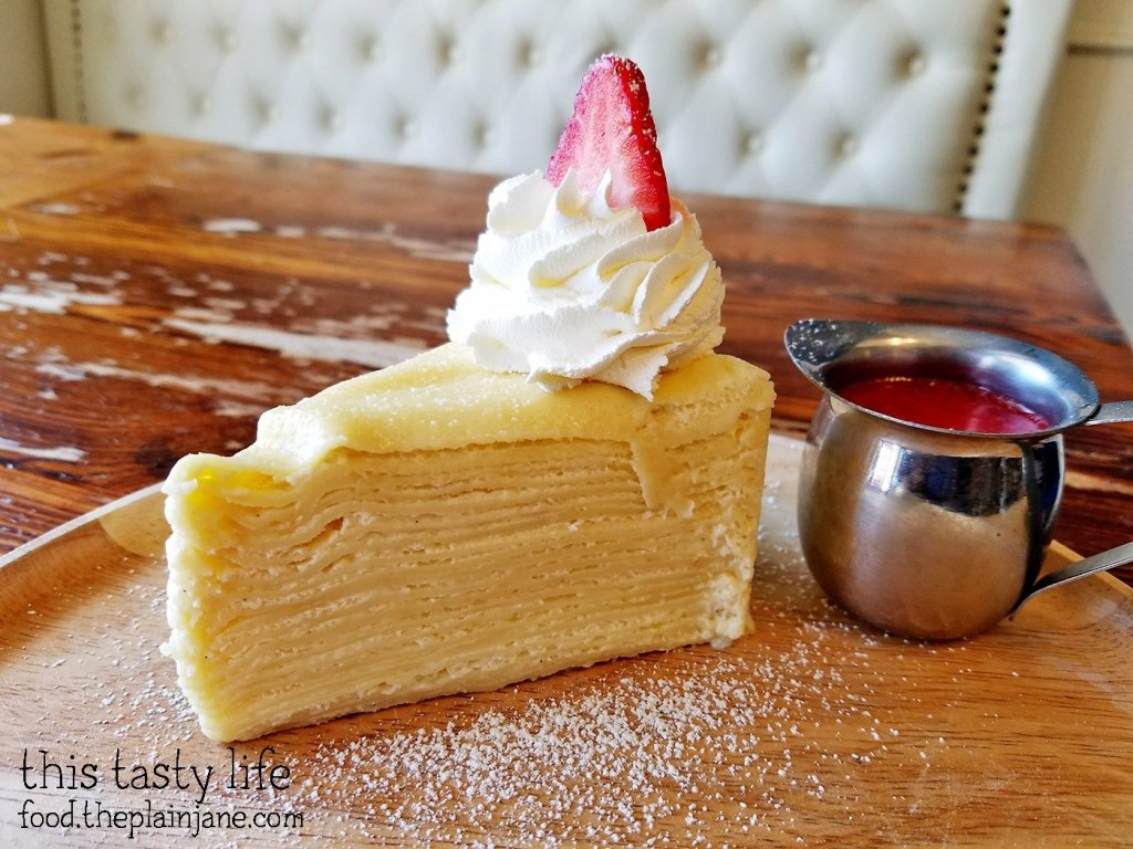 Crepe Cake at Up2You Cafe - San Diego, CA