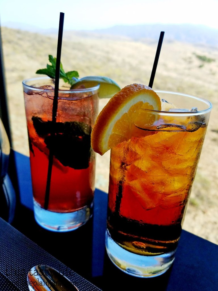 Iced Tea at Final Cut at Hollywood Casino Jamul