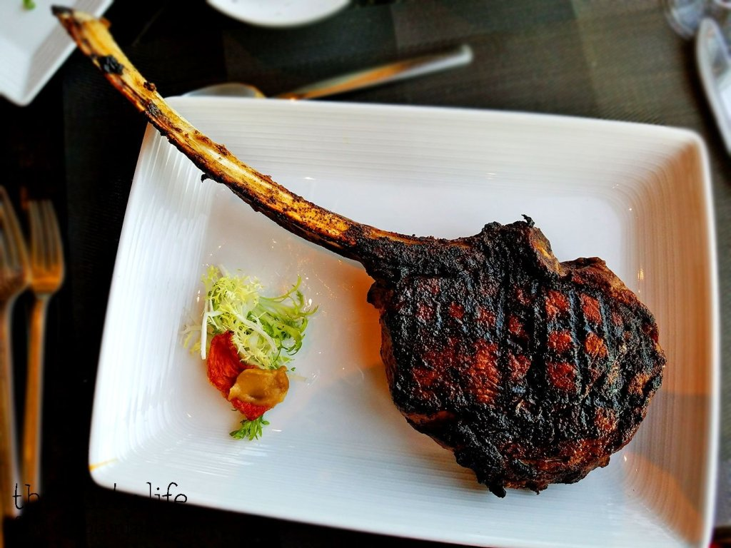 Tomahawk Steak at Final Cut at Hollywood Casino Jamul