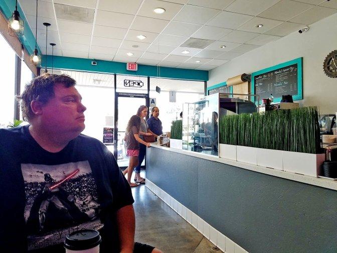 Interior at S3 Coffee Bar - San Diego, CA