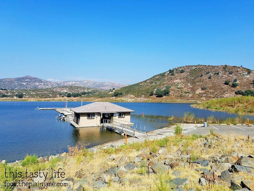 Fishing and Boating Dock at Lake Sutherland - Ramona, CA