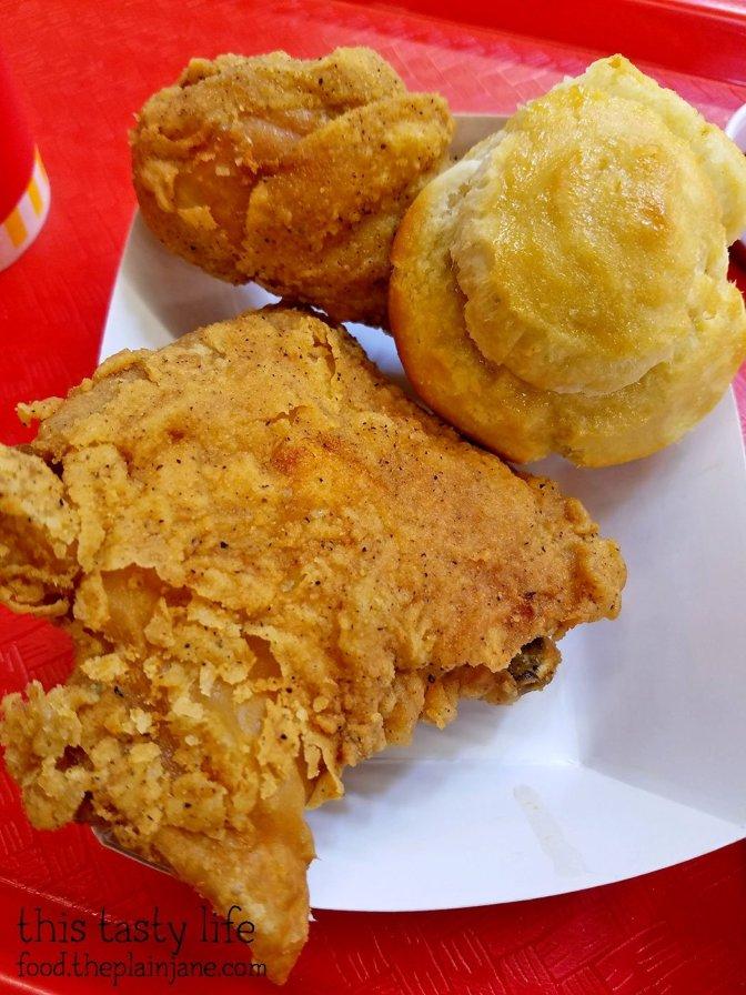 Fried Chicken Combo at Krispy Krunchy Chicken - San Diego, CA