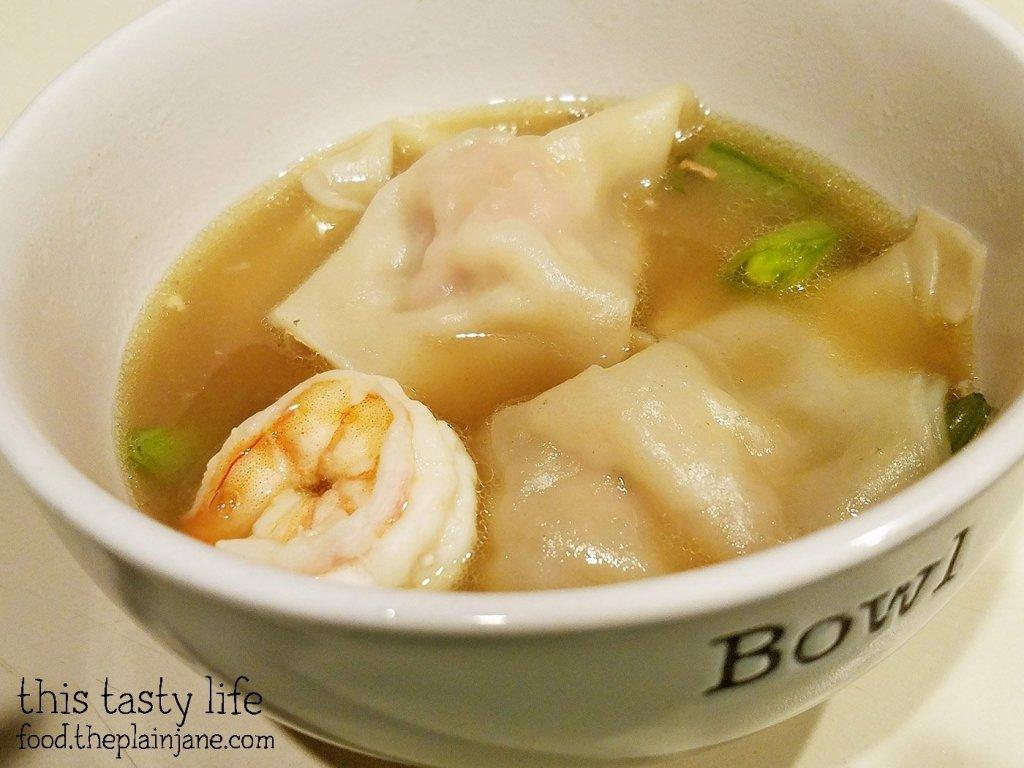 Wonton Soup with Pork Bone Broth | This Tasty Life