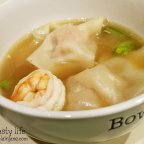 Homemade Pork Bone Broth for Wonton Soup