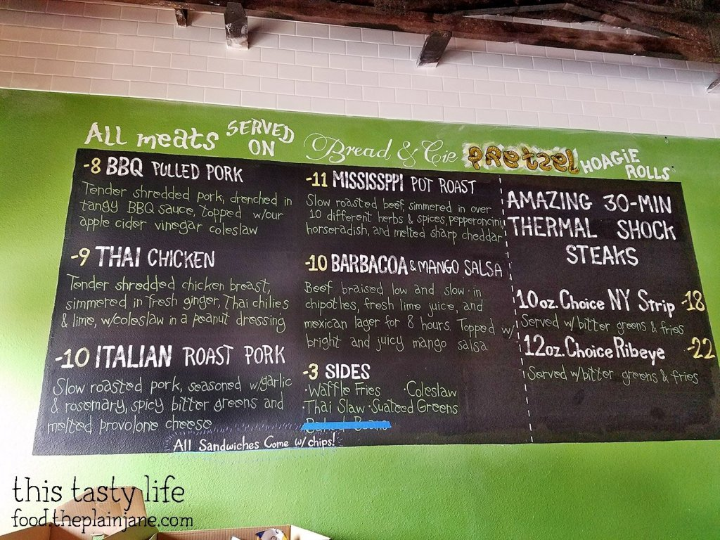 Menu - The Crafty Butchers - San Diego, CA