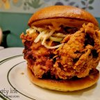 Fried Chicken Sandwiches and Burgers at Royale in San Diego, CA