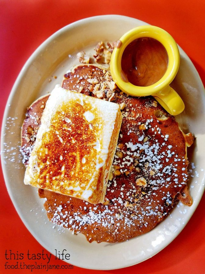 Nana's Hot Cocoa Pancakes - Snooze AM Eatery in La Jolla, CA