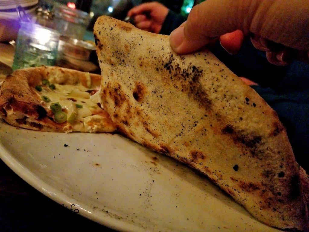 Pizza Crust at Farmer's Table - La Mesa - San Diego, CA