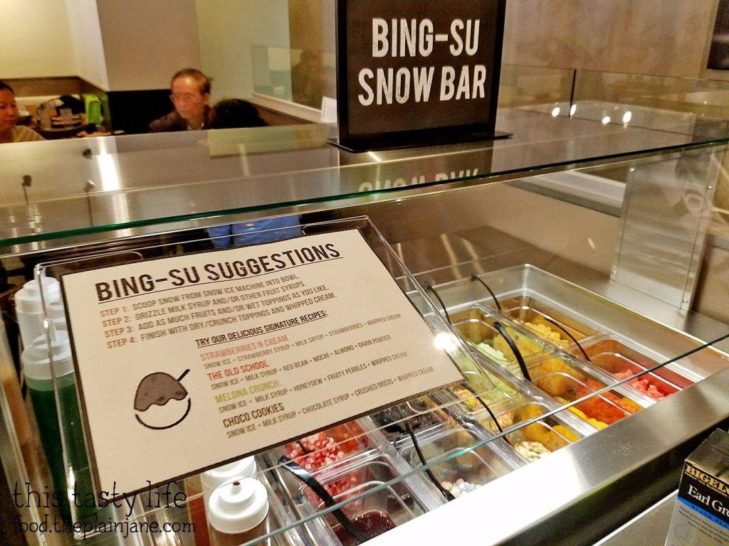 Bing-Su Snow Bar - Shabu Works - Mira Mesa - San Diego, CA