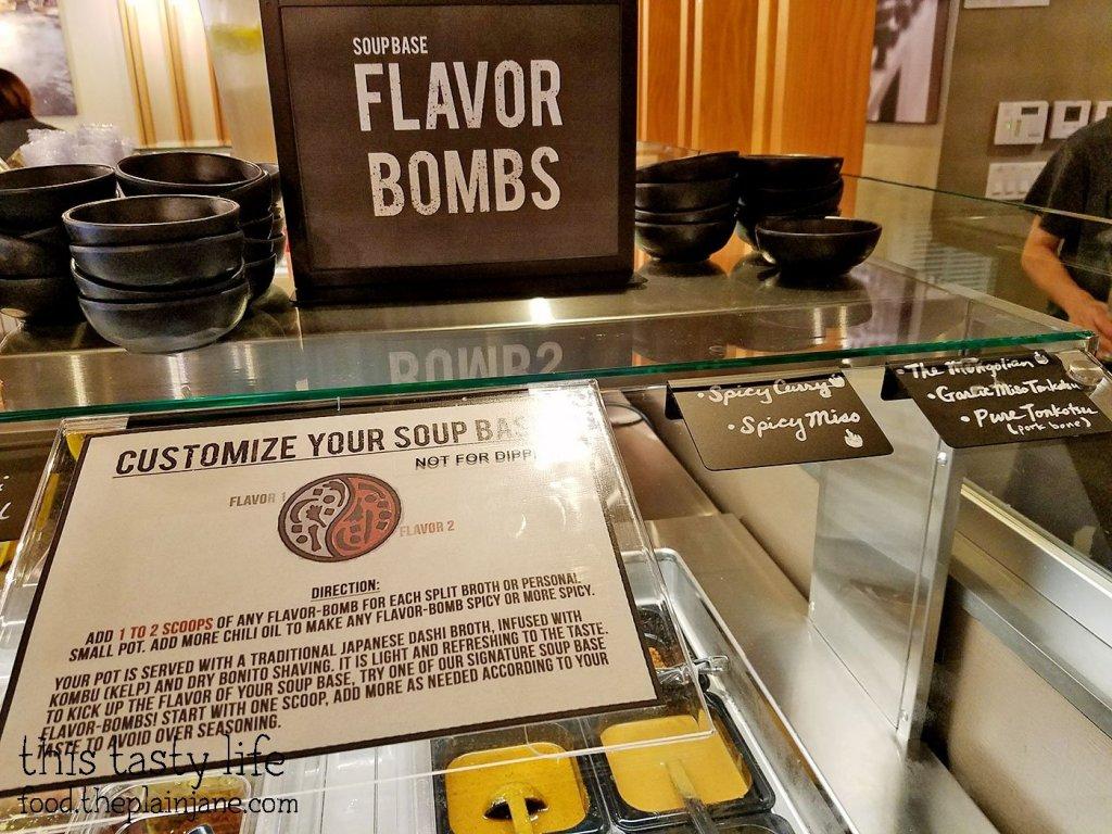 Soup Flavor Bombs - Shabu Works - Mira Mesa - San Diego, CA