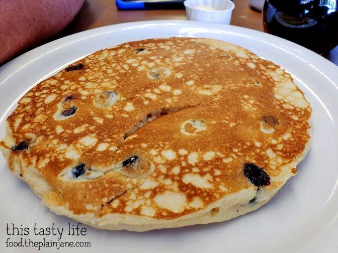 Blueberry Pancake - El Clasico Diner - Lemon Grove, San Diego, CA