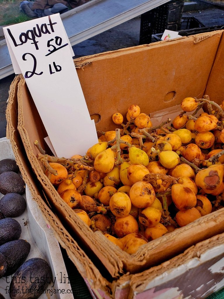Loquats at the Mira Mesa Farmer's Market
