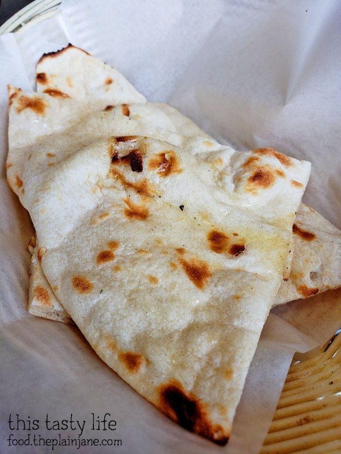 Naan Bread with your lunch special at Curry N Kabab - San Diego, CA