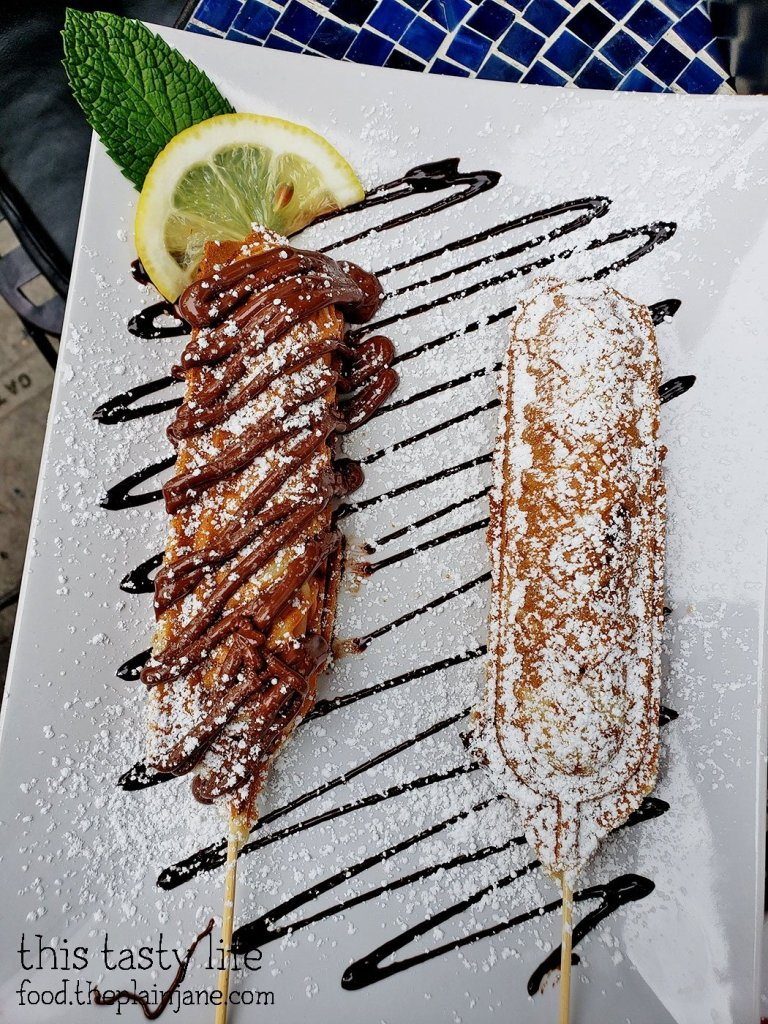 Crepe on a Stick at The Lazy Hippo - San Diego, CA
