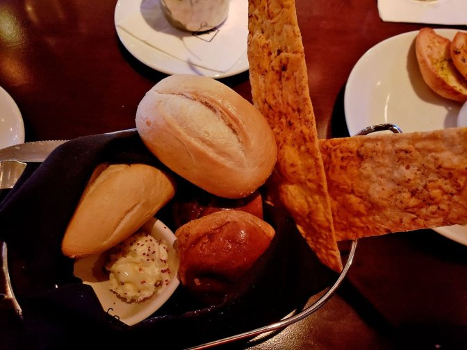 Bread Basket at Fleming's Prime Steakhouse - La Jolla, CA