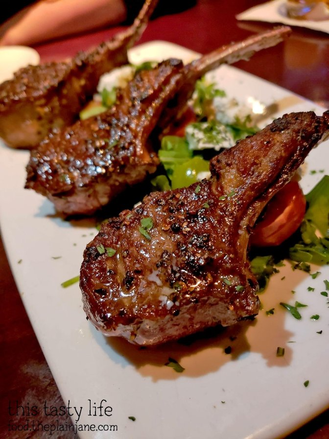 Lamb Lollipops at Fleming's Prime Steakhouse - La Jolla, CA