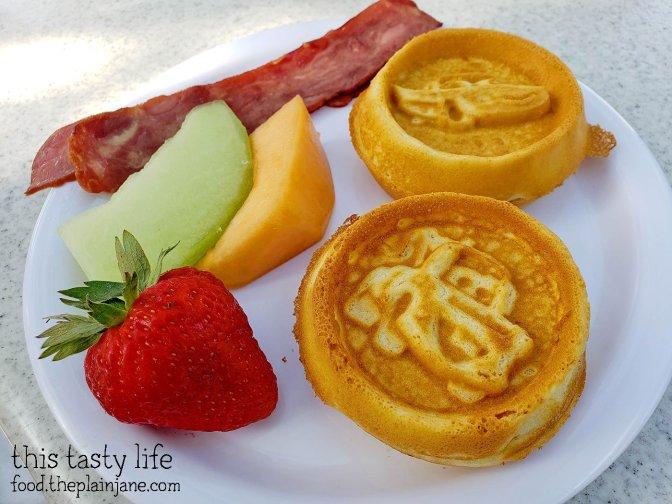 Kids Waffle Meal at Disney California Adventure