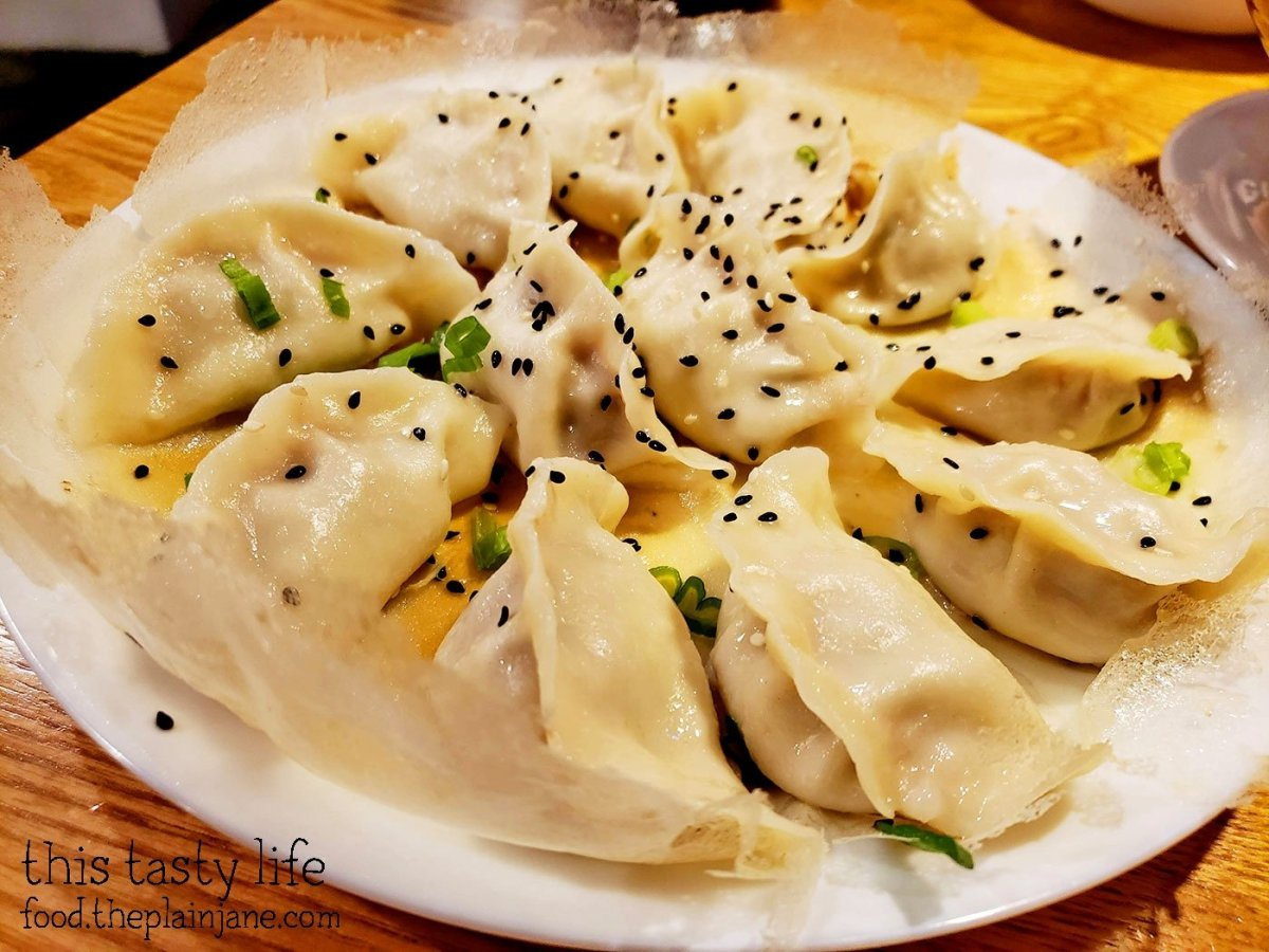 Jiaozi and Pike Place Market in Seattle, WA