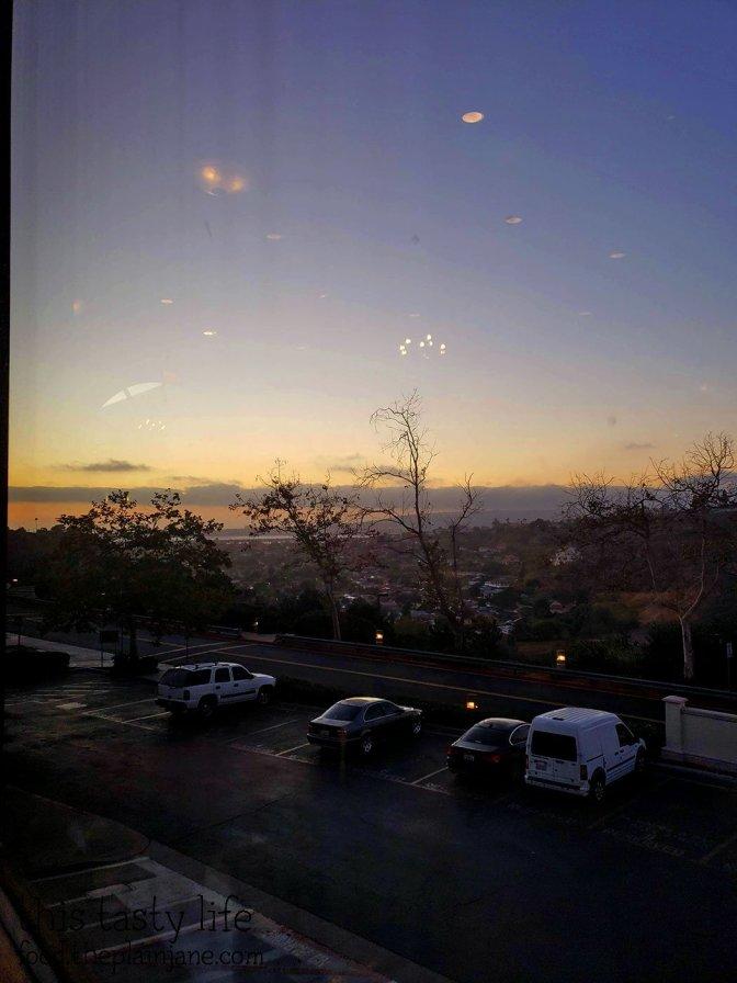 View from La Gran Terraza at USD - San Diego, CA