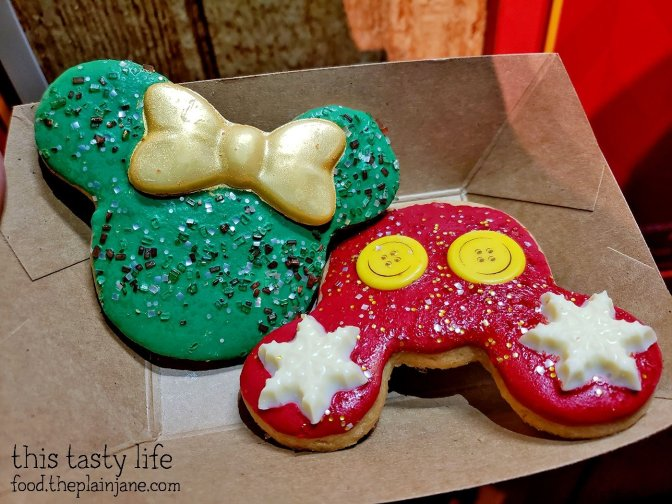 Holiday Mickey and Minnie Cookies - Festival of Holidays - Disney California Adventure