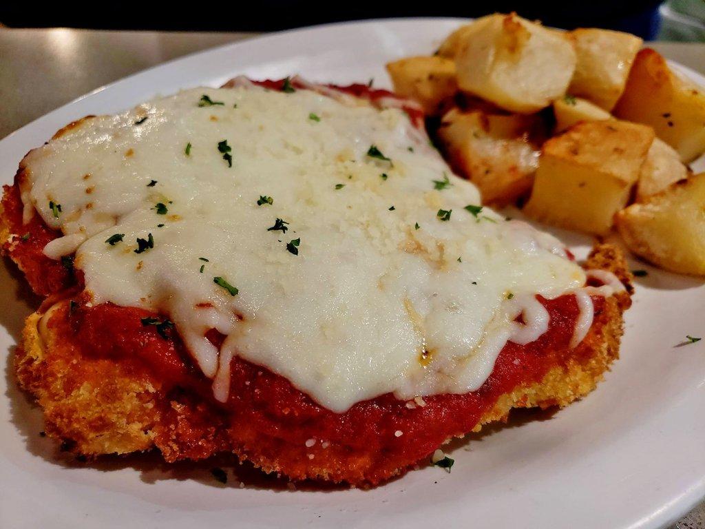 CHicken Pizzaiola at Soleluna Cafe - San Diego, CA