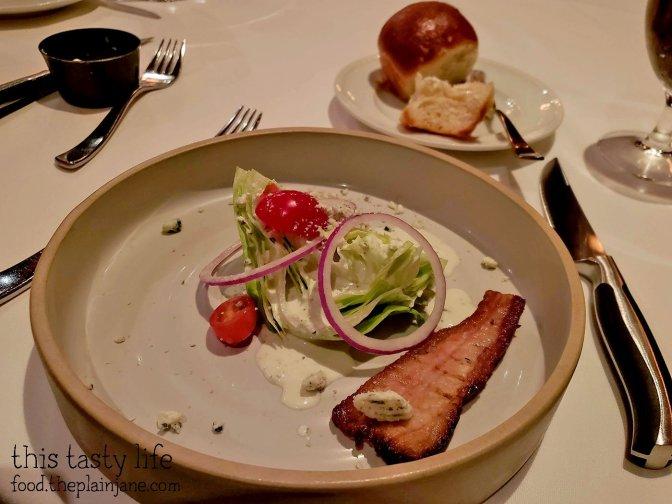 Wedge Salad with Bacon at Cowboy Star - San Diego, CA