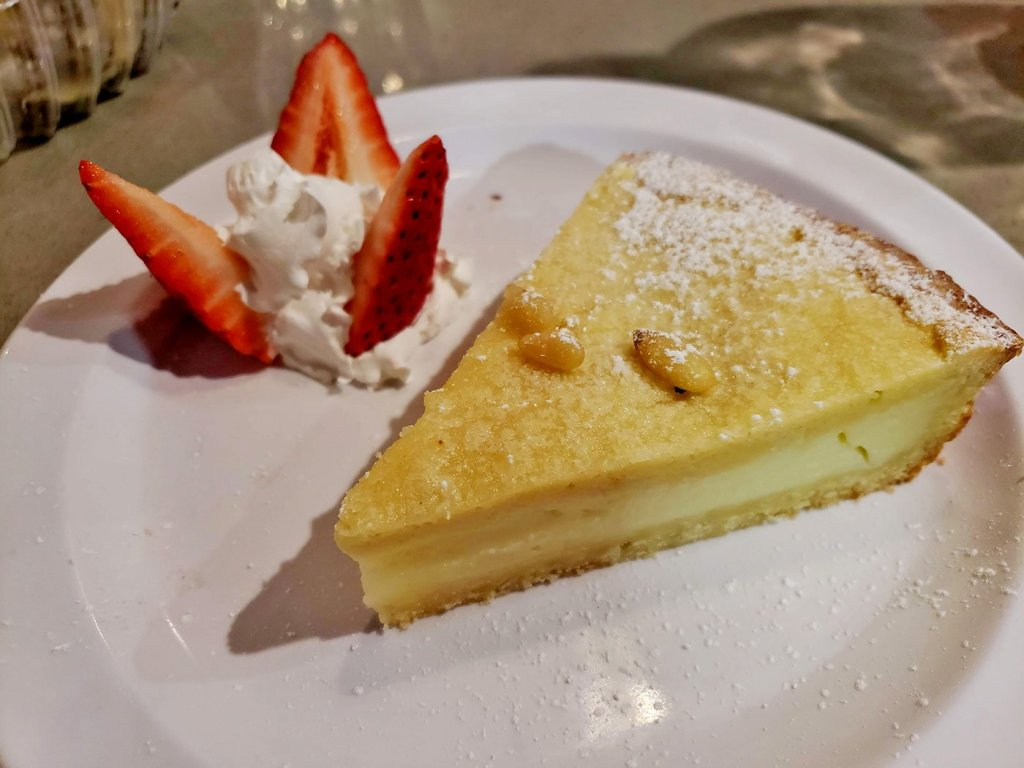 Torta Alla Nonna at Soleluna Cafe - San Diego, CA