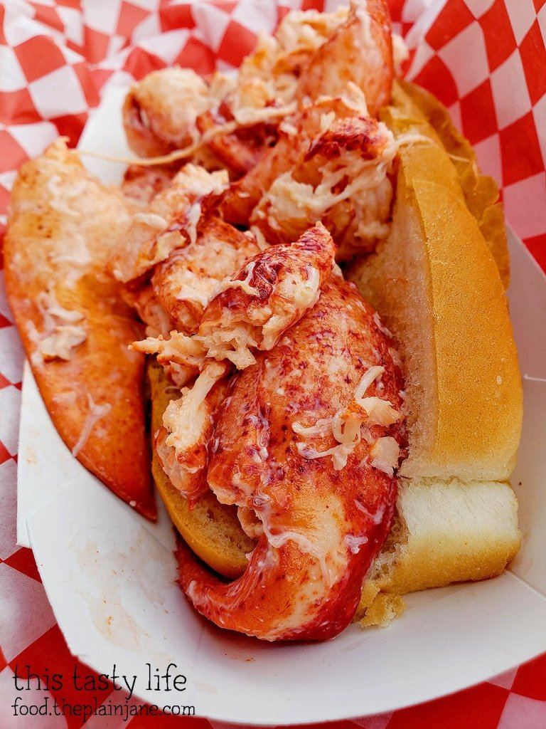 Lobster Roll at Pete's Seafood - North Park - San Diego, CA