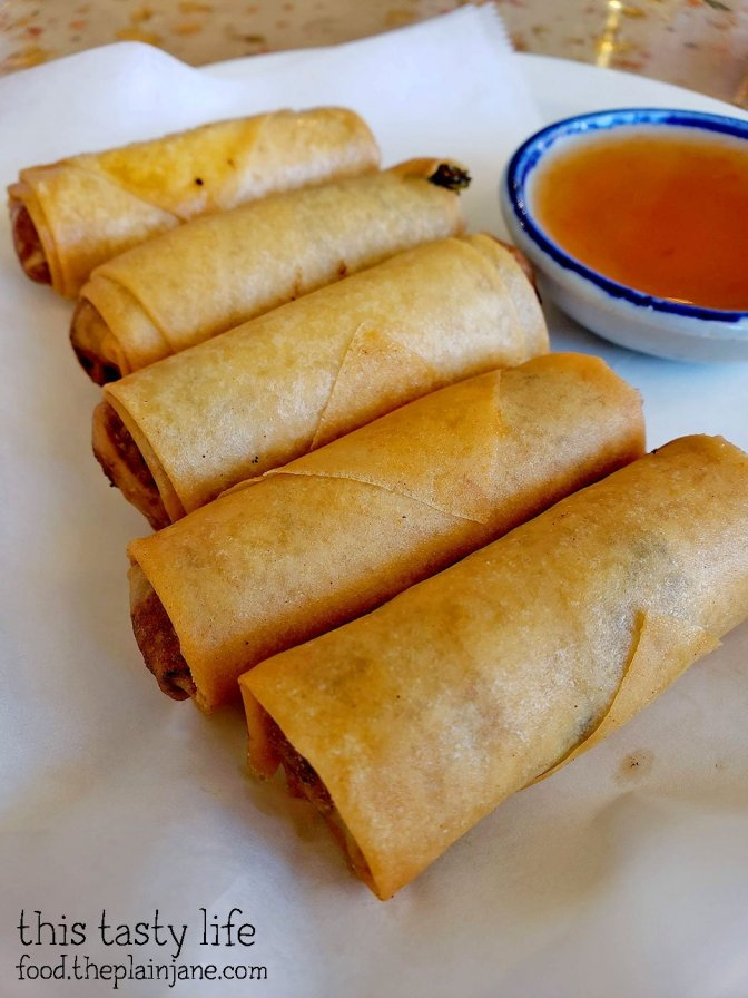 Crispy Rolls at Lann Boon Asia Cafe - San Diego, CA