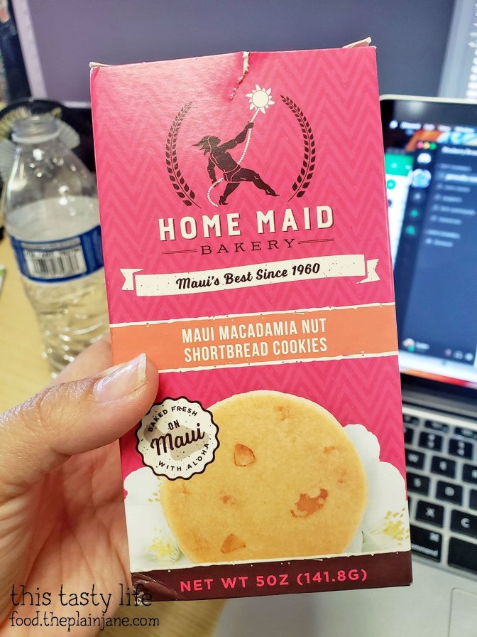 Home Maid Cookies from Maui