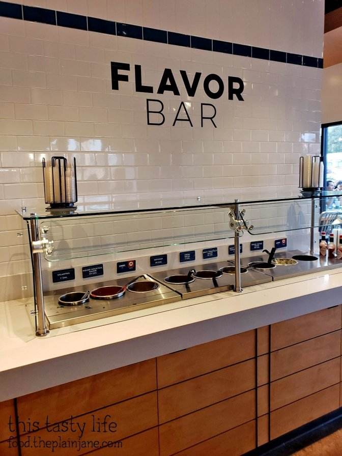 Flavor Bar at California Fish Grill