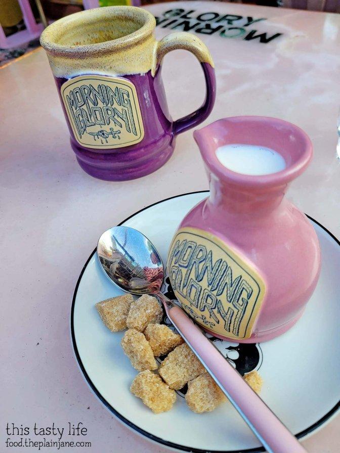 Coffee with Cream and Sugar - Morning Glory / San Diego, CA