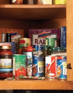 Food storage in cupboard pantry refrigerator freezer also chart for and rh unl