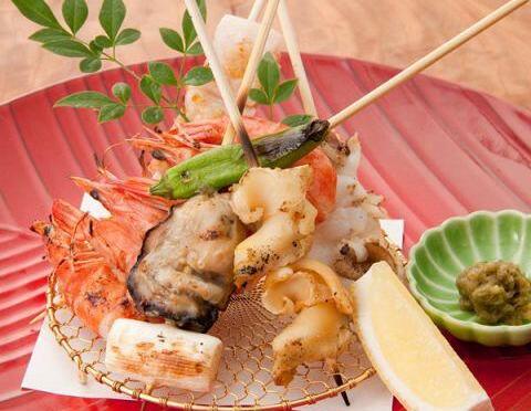 おいしいつぶ貝にはとげがある!調理の際はお気を付け下さい、な串焼きレシピ。
