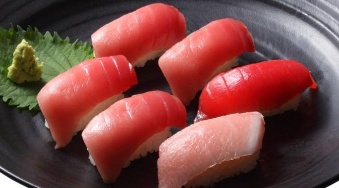マグロがおいしい回転寿司スシロー。:まぐろフェア「まぐろ尽くし」900円(税抜)