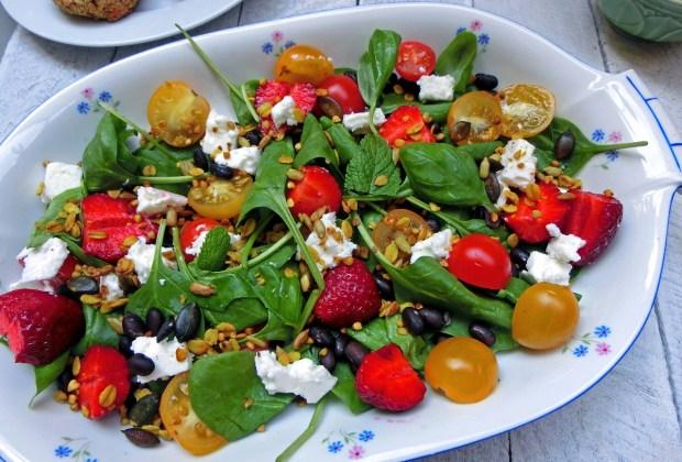 Sommersalat zum Grillen