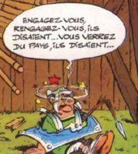 Légionnaire d'Asterix