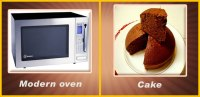 Modern Microwave Oven and Ancient Baking | Food 4 Your Mood
