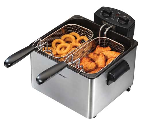 kitchener triple basket deep fryer kitchen appliance the best reviewed home fryers in 2019 a foodal buying guide hamilton beach 35034 professional style