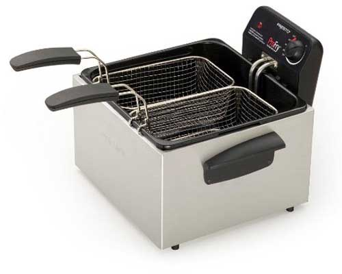 kitchener triple basket deep fryer best place to buy kitchen cabinets the reviewed home fryers in 2019 a foodal buying guide hamilton beach 35034 professional style