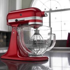Kitchen Aid Glass Bowl Bookcase Kitchenaid 5 Quart Artisan Design Series Excellent For Stress Free Ksm155gb Qt Stand Mixer With Review