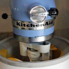 Kitchen Aid Ice Maker Metal Frame Outdoor A Review Of The Kitchenaid Cream Attachment Foodal Com