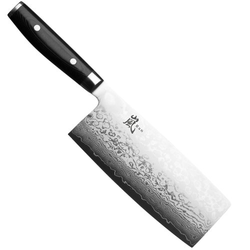 best damascus kitchen knives price to renovate the japanese in 2019 a foodal buying guide this yaxell ran 7 inch cleaver is one of its kind cladding over vg 10 stainless steel along with black micarta handle sets it apart