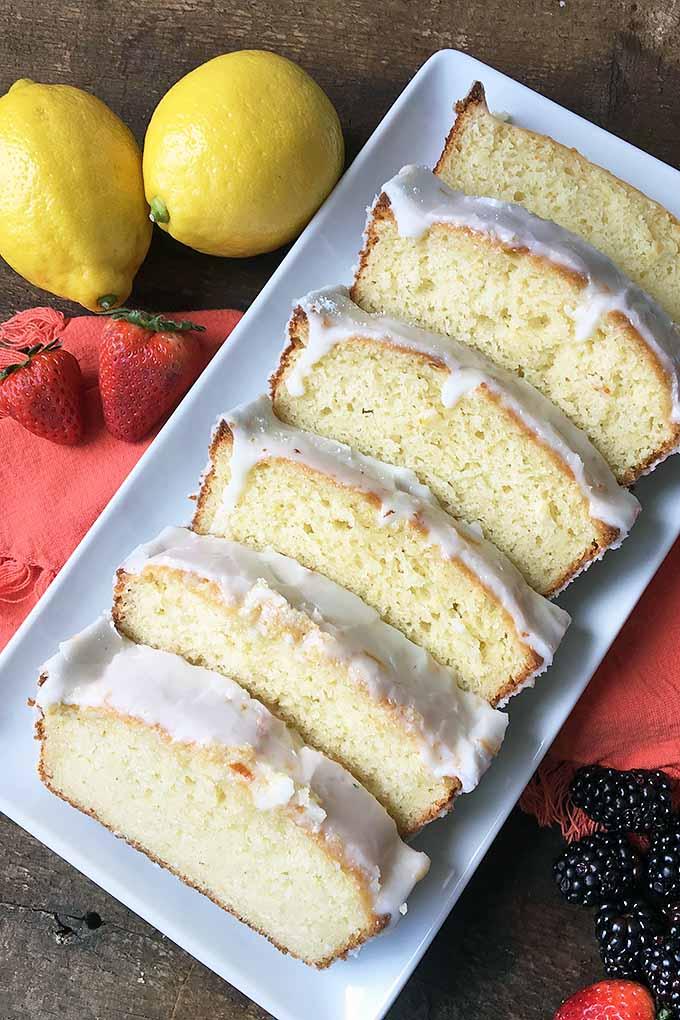 Yogurt Cake Marmalade Glaze