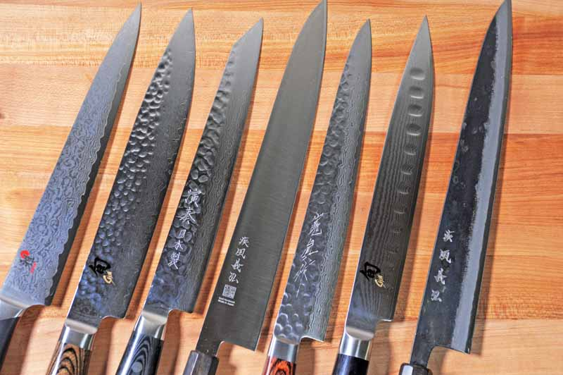 sharp kitchen knives cabinet faces top rated knife reviews and buying guides foodal long thin blades scalpel cutting edges outstanding aesthetics rank japanese sujihikis among the best of slicing carving