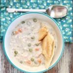 Food Allergy Friendly Crockpot Chicken Pot Pie Slow Cooker Recipe, Gluten Free, Top 8 Free