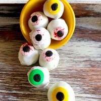 Gluten Free Allergy Friendly Halloween Eyeballs